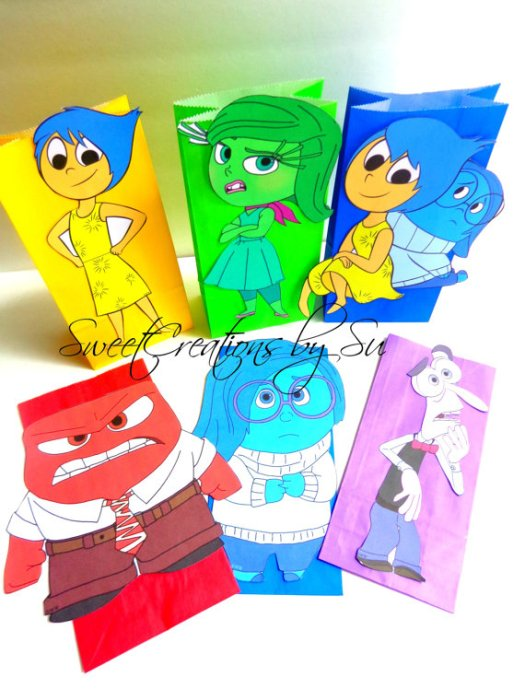 Inside Out Favor Bags