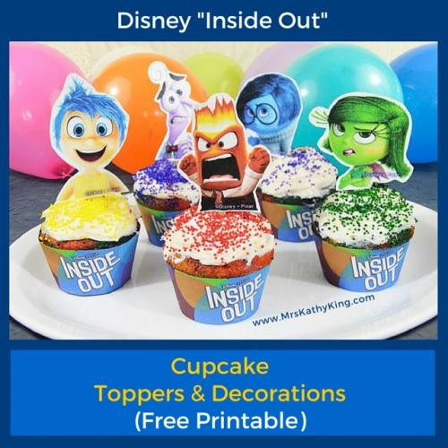 Inside out Party Decorations