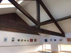 High ceilings - beams and wood