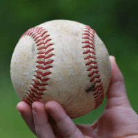 Wordless Wednesday: Baseball and Friend