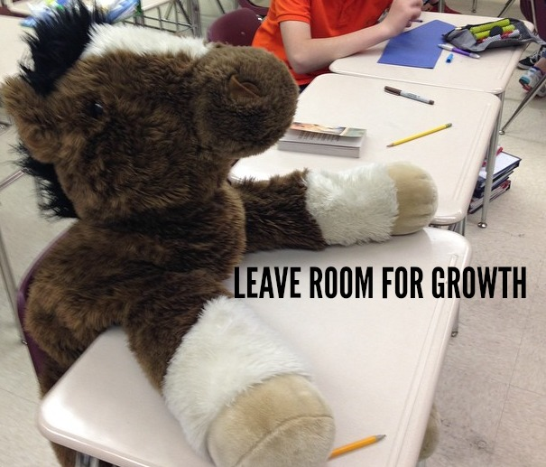 LEAVE ROOM FOR GROWTH