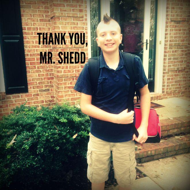 THANK YOU, MR. SHEDD