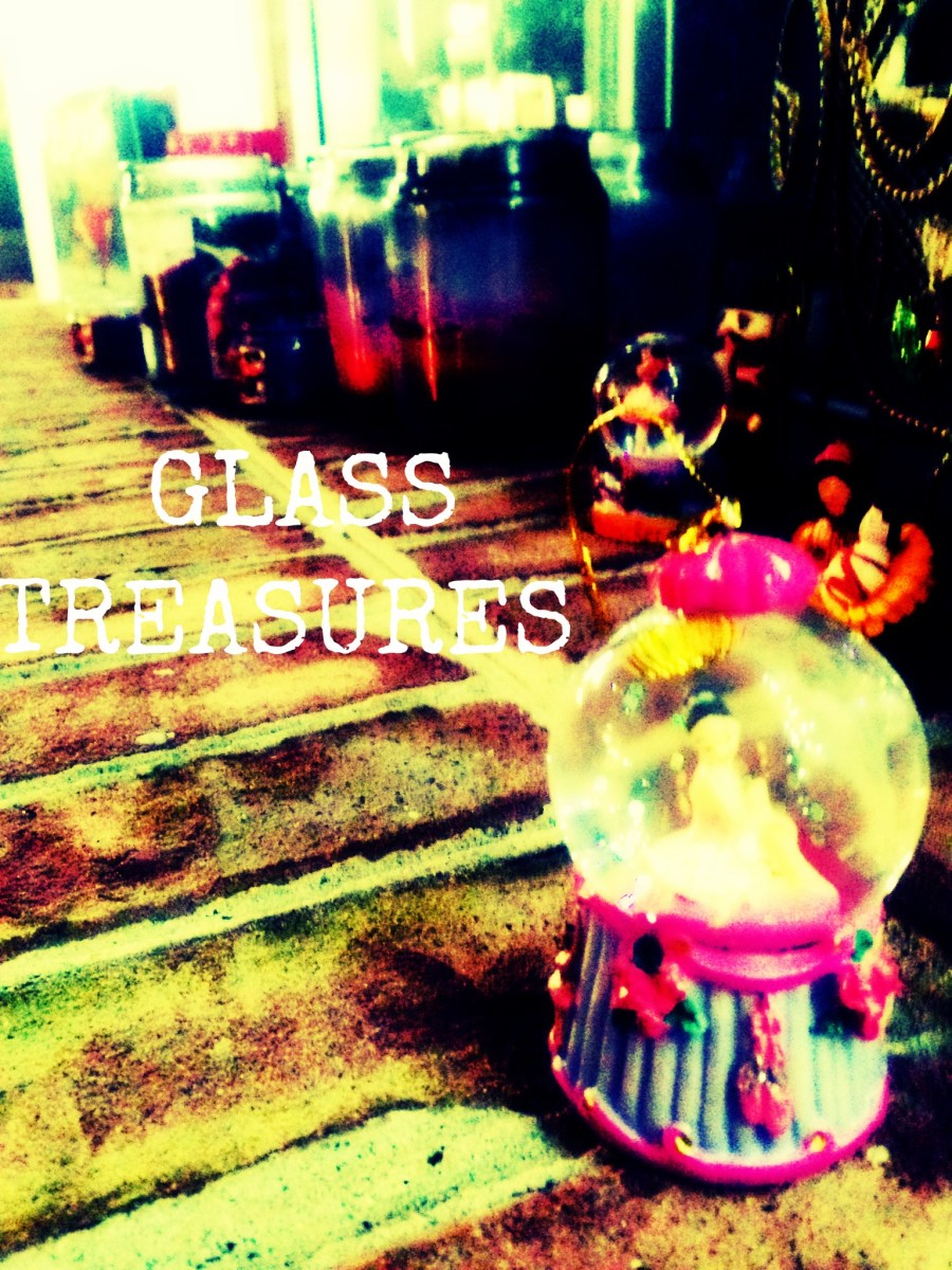 GLASS TREASURES (Christmas Visions Part 1)