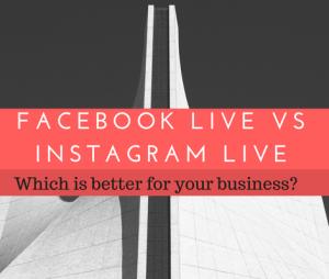 instagram live vs facebook live