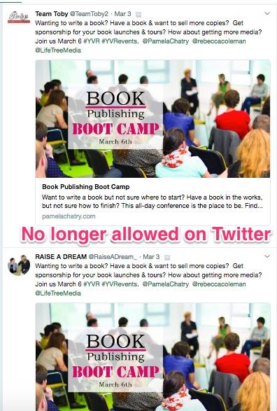 tweets across mulitple accounts on twitter