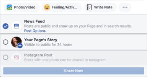 Facebook's new scheduling tool