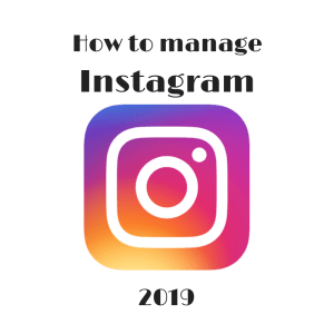 How to manage instagram
