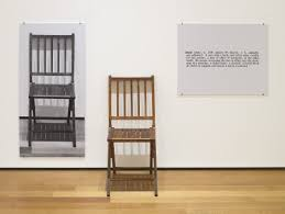 One and Three Chairs (1965)