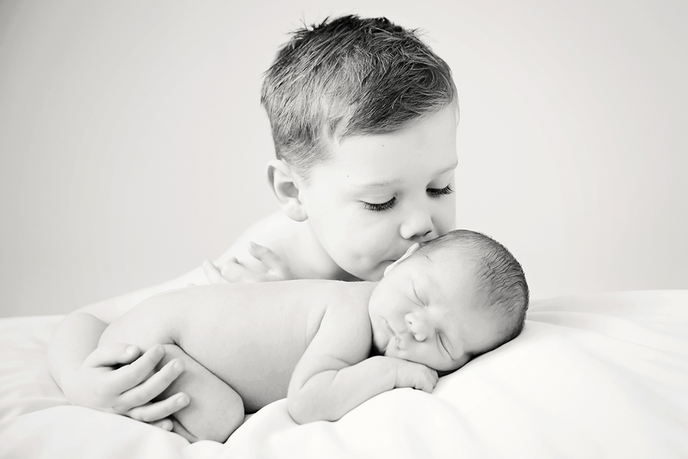 George & harry Newborn Photography Sitting