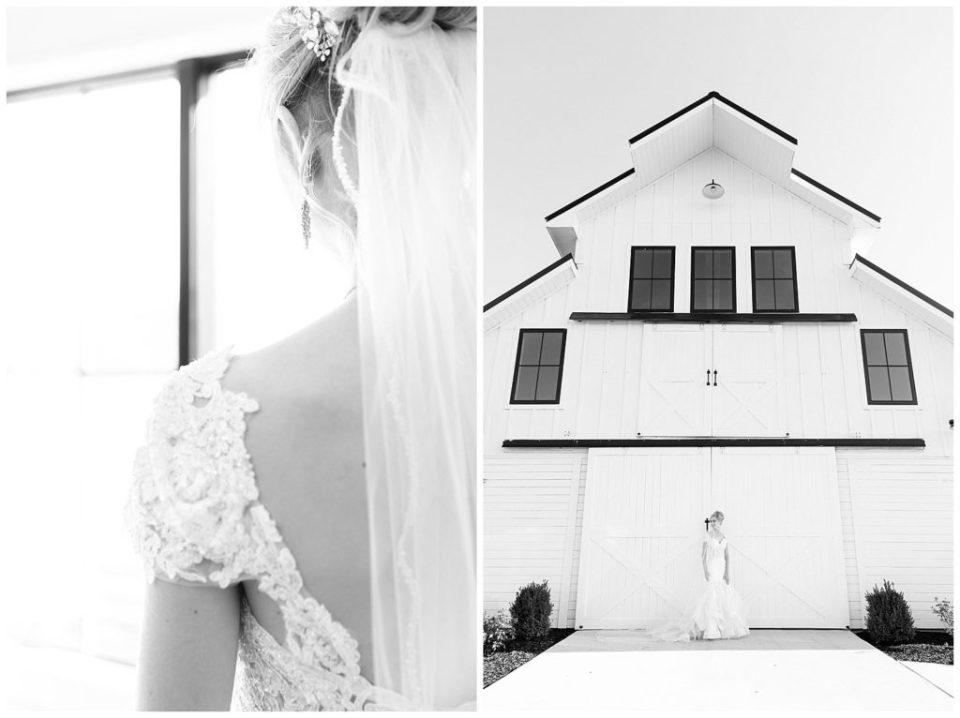 Elegant bride. Southern wedding.