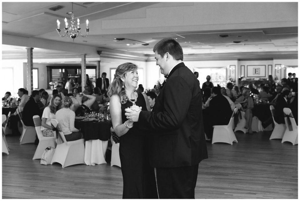 Mother Son Dance. Virginia Wedding.