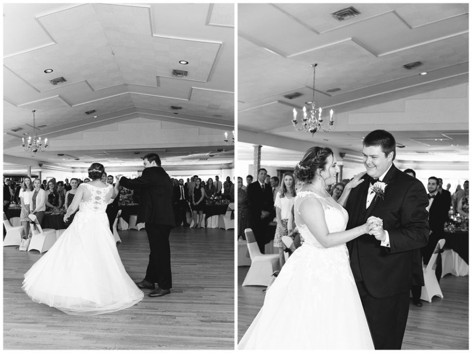 First Dance. Husband and Wife. Bride and Groom.