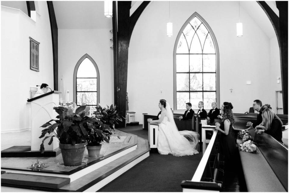 Virginia Catholic Wedding