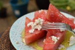 Watermelon and Goat Cheese Salad