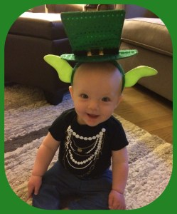 Blakely Faye is ready for St. Patty's Day!