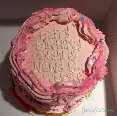 Blakely's cake from Nana B