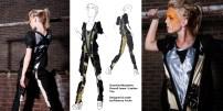 From Sketch to Clothing: Guerrilla W(e)arfare Mini Collection