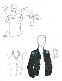 From Sketch to Clothing: Men´s Jacket