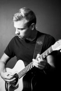 portrait of a guitarist