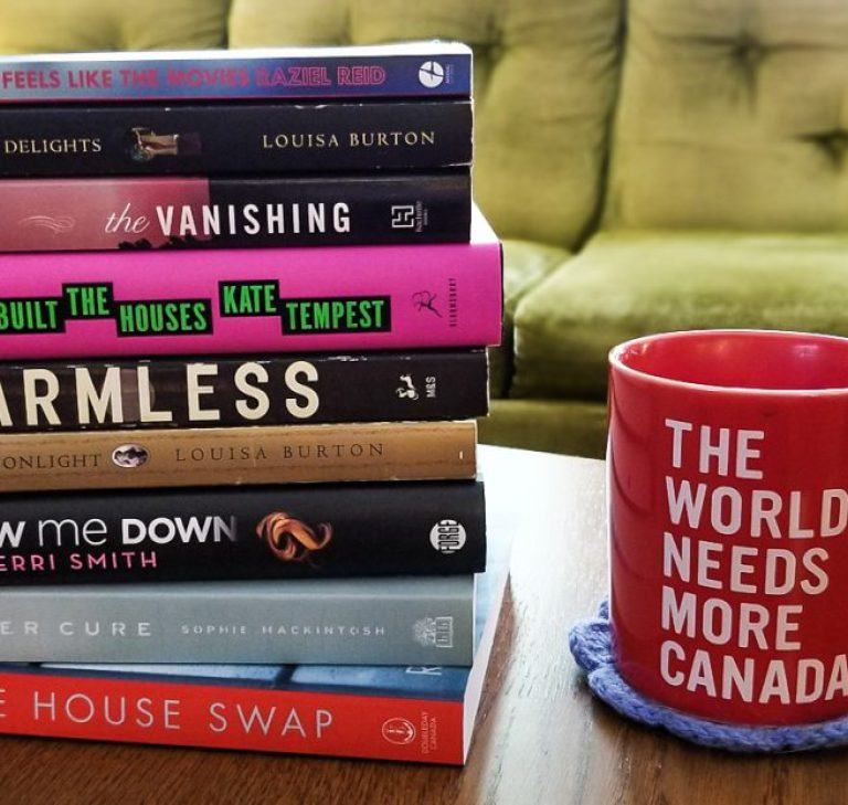 A stack of books I've read from Jan - April of 2019.