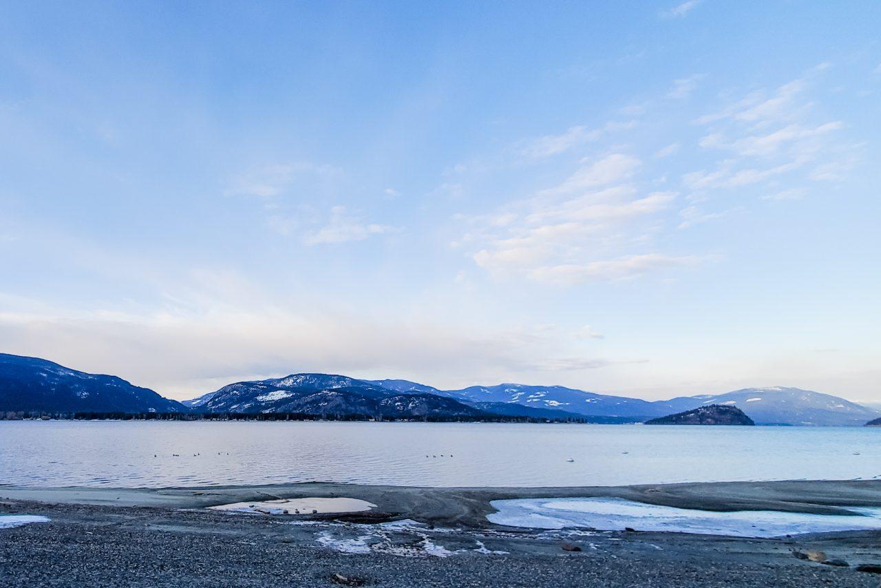Image of Sorrento Beach in Sorrento, British Columbia