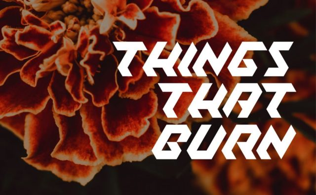 Things That Burn by Rebecca Jones-Howe