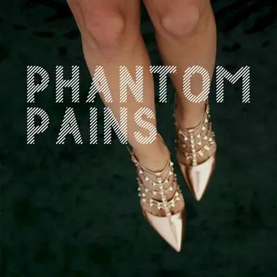 "Cover for ""Phantom Pains"" by Rebecca Jones-Howe"
