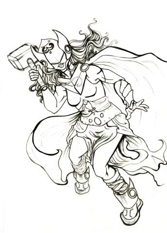 Thor Inks, Sketchbook 2016