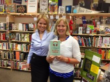 Me & Bookstore owner Suzanne Droppert
