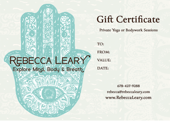 Rebecca Leary Gift Certificate