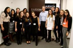 Zazoom Media Group Visit #NYComm16