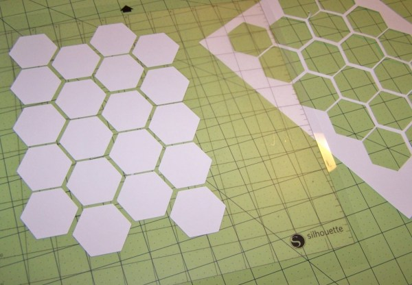 perfect hexagons!