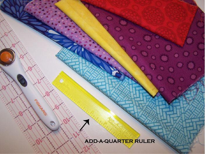 supplies for new york beauty quilt block