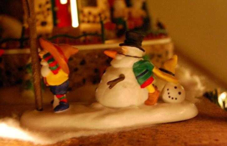 North Pole Village Department 56 Display