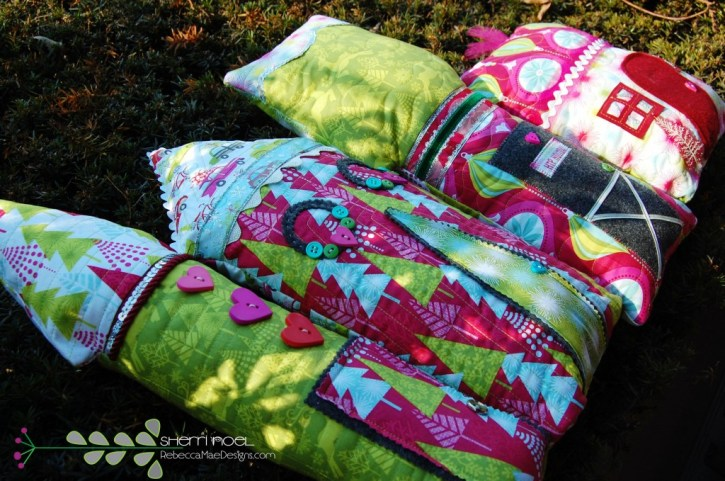 sewing tutorial hip holiday houses sewing tutorial