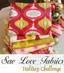 hip holiday fabric