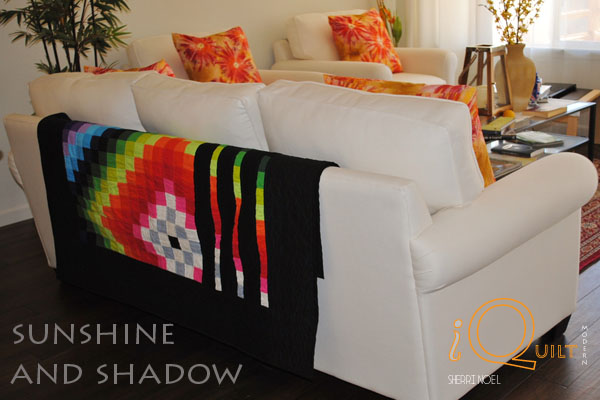amish quilt sunshine and shadow bars