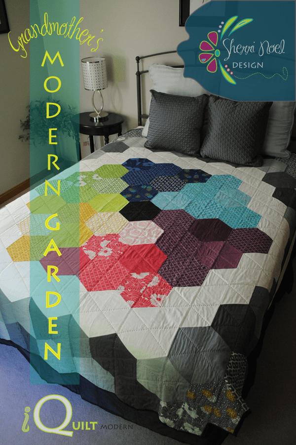 Grandmothers Modern Garden Quilt Pattern