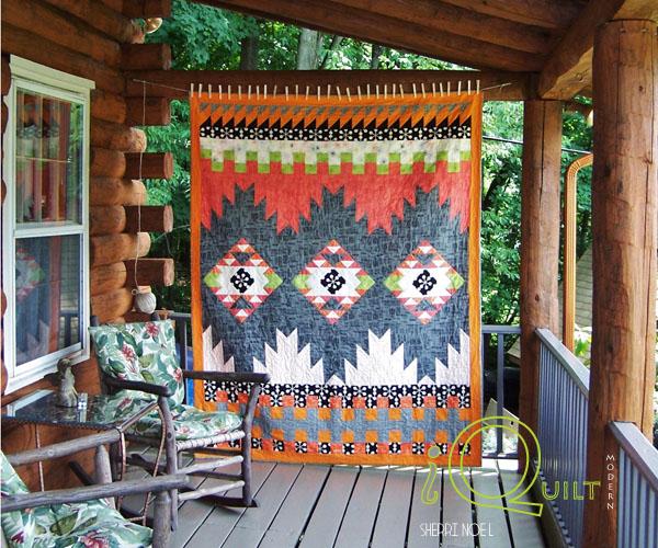Southwestern quilt