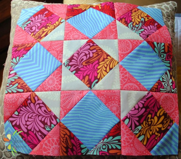 nine patch block of the month quilt