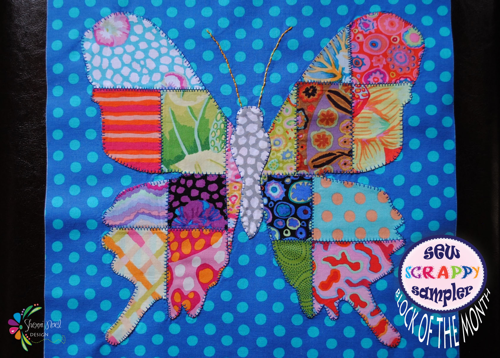 Butterfly Quilt Block Of The Month