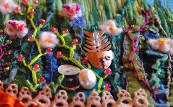 embellishment quilt landscape seashore
