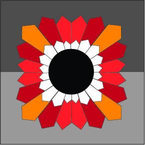 wedge quilt block pattern