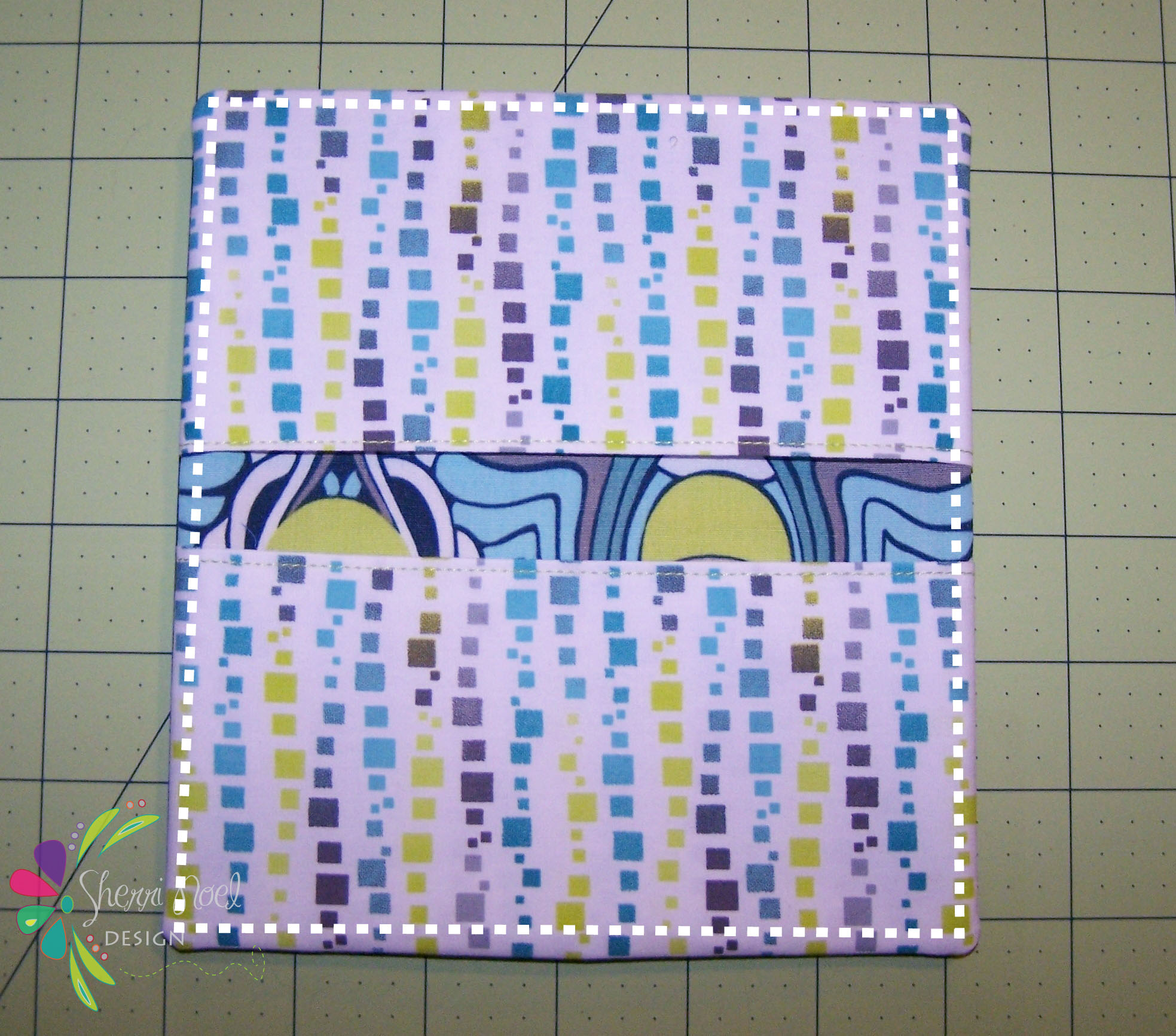 Fabric Checkbook Cover : Simple checkbook cover tutorial