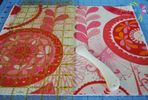 sewing tutorial flat iron case