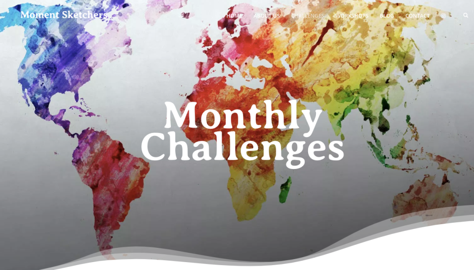 Moment Sketchers - Monthly Challenges