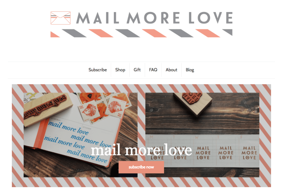 Mail More Love