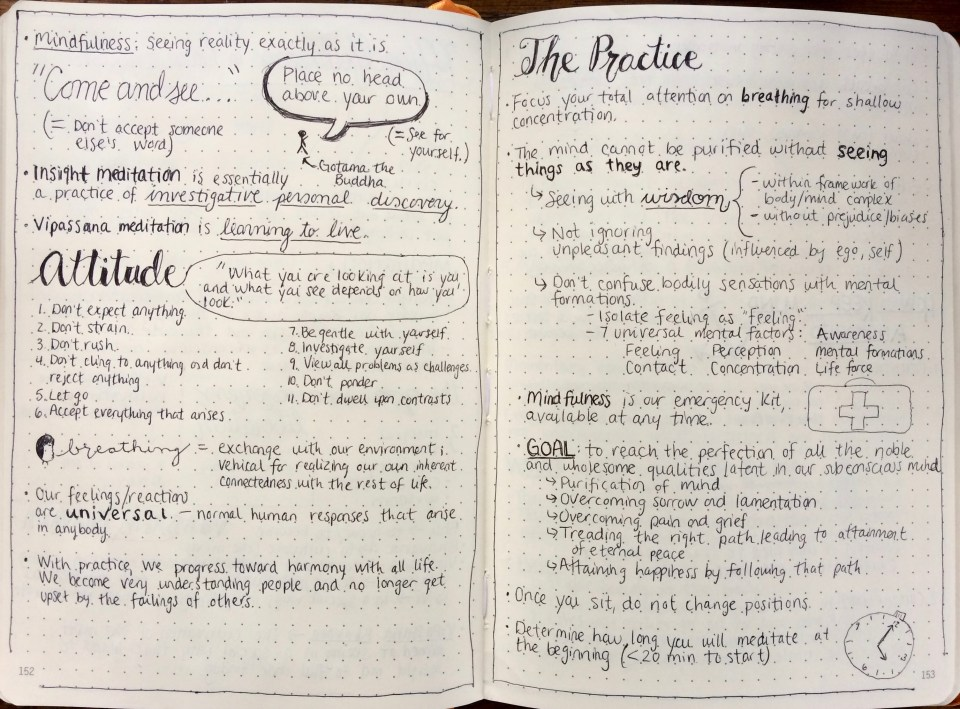 MIndfulness in Plain English Notes 2