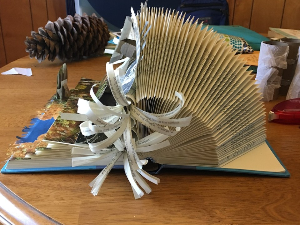 book art project side