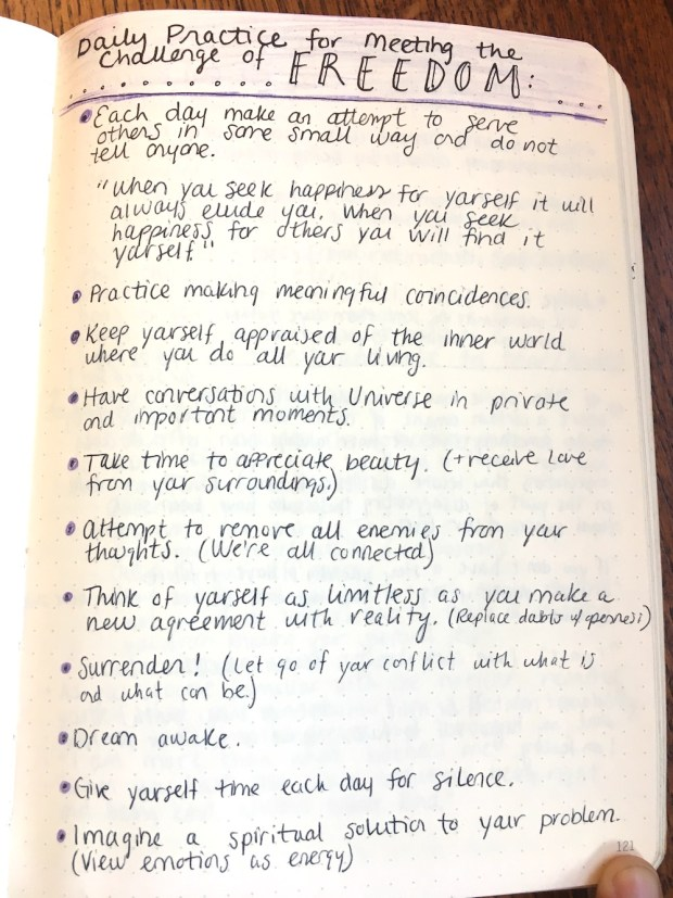 sacred self book notes
